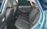 Hyundai Kona Electric 2018 road test review - rear seats