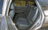 Hyundai Santa Fe 2019 road test review - rear seats