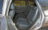 Hyundai Santa Fe 2019 road test review - rear seats