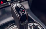 Jaguar F-Type 2020 road test review - gearstick