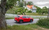 Lexus UX 2018 road test review - static rear
