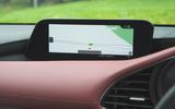 Mazda 3 Skyactiv-X 2019 road test review - navigation