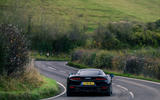 24 McLaren GT 2021 road test review cornering rear