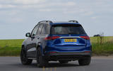 Mercedes-AMG GLE 53 2020 road test review - cornering rear