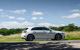 Mercedes-Benz A250e 2020 road test review - on the road side