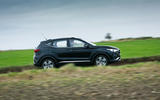 MG ZS EV 2019 road test review - on the road side
