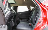 Renault Captur 2020 road test review - rear seats
