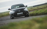 24 Toyota GR Yaris 2021 UK road test review on road front