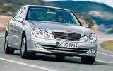 E-class is cooking on gas