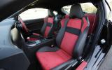 Toyota GT86 front seats