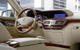 Mercedes-Benz S 250 CDI dashboard