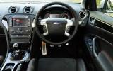Ford Mondeo Titanium X Sport dashboard