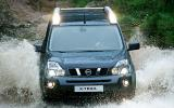 Nissan X-Trail 2.0 dCi wading