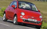 Fiat 500C front quarter