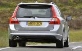 Volvo V70 rear end