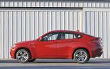 BMW X6 M side profile