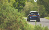 Alpina XD3 2019 UK road test review - on the road rear
