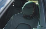 Aston Martin DBX 2020 road test review - seat details