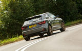 Audi A1 S Line 2019 road test review - cornering rear