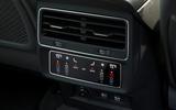 Audi Q8 50 TDI Quattro S Line 2018 road test review - rear climate controls