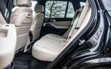 BMW X5 2018 road test review - rear seats