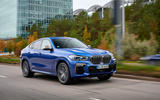 BMW X6 M50i 2019 road test review - on the road front