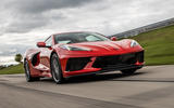 Corvette Stingray C8 2019 road test review - track front