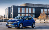 25 dacia sandero tce 90 2021 uk first drive review static