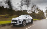 Ford Puma 2020 road test review - action