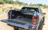 Ford Ranger Raptor 2019 road test review - truck bed
