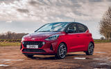 Hyundai i10 2020 road test review - static front