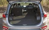 Hyundai Santa Fe 2019 road test review - boot