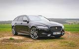 Jaguar XF Sportbrake 2019 road test review - static
