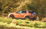 Land Rover Discovery Sport 2020 road test review - on the road side