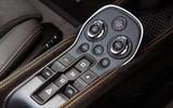 McLaren 600LT Spider 2019 road test review - centre console