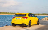 Mercedes-AMG A35 2018 review - static rear