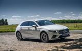 Mercedes-Benz A250e 2020 road test review - static