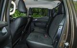 Mercedes-Benz X-Class road test review rear seats