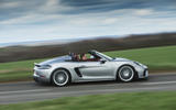 Porsche 718 Spyder 2020 road test review - on the road side