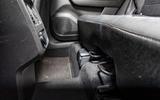 Renault Captur 2020 road test review - rear bench