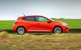 Renault Clio 2019 road test review - on the road side