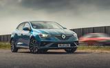 25 Renault Megane E Tech PHEV road test 2021 static