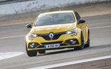 Renault Megane RS 280 2018 road test review cornering 1