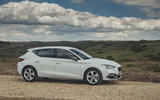 Seat Leon 2020 road test review - static front