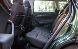 Skoda Karoq Scout 2019 road test review - rear seats