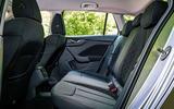 Skoda Scala 2019 road test review - rear seats
