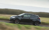25 Toyota GR Yaris 2021 UK road test review on road side