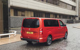 Vauxhall Vivaro Life 2019 road test review - static rear