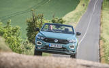 Volkswagen T-Roc Cabriolet 2020 road test review - on the road front