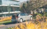 25 VW ID 3 2021 road test review on road rear